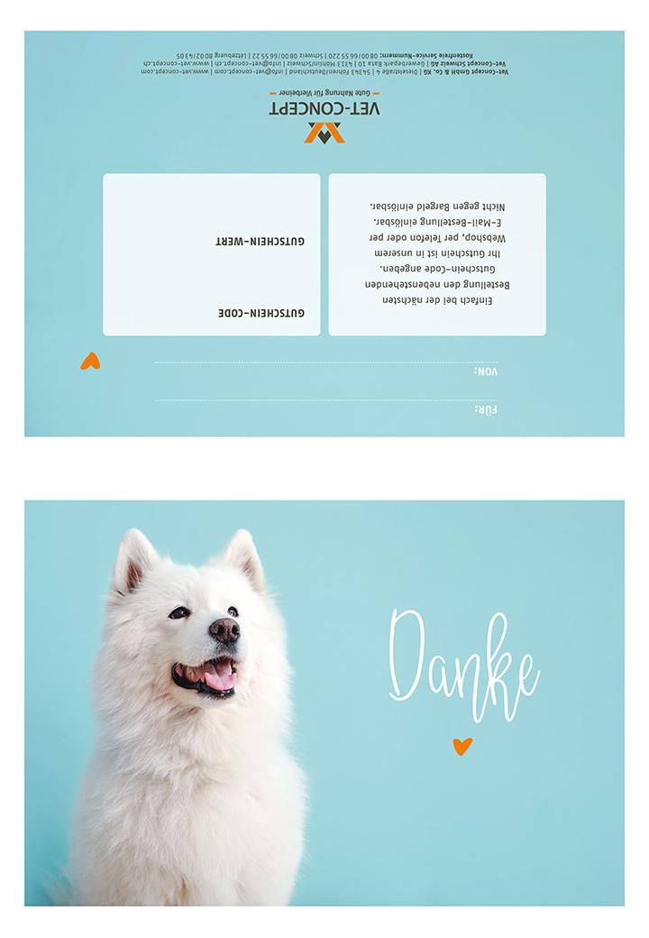Außergewöhnlich Vet-Concept Geschenkgutschein zum Ausdrucken - Gutscheine zum &BV_92