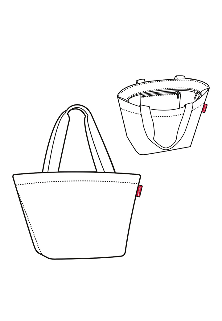 Reisenthel Shopper E1 twist silver  Bild 4