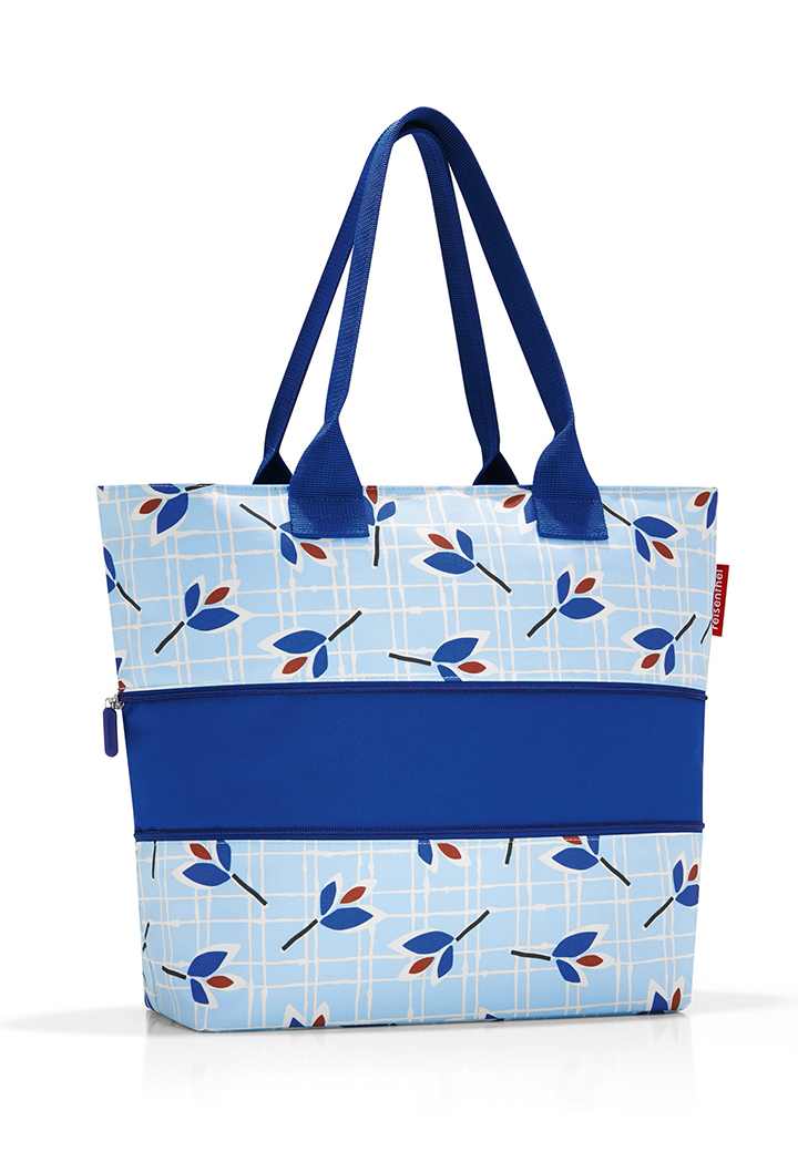 Reisenthel Shopper E1 leaves blue Bild 2