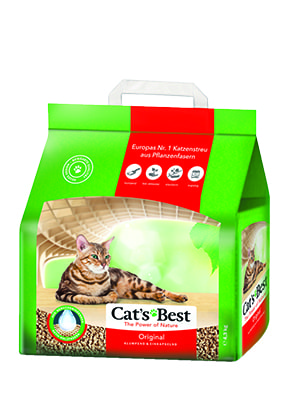 Katzenstreu Cat's Best Original, 10l | 40l