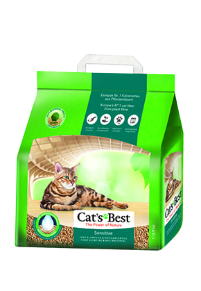 Katzenstreu Cat's Best Sensitive, 8l | 20l